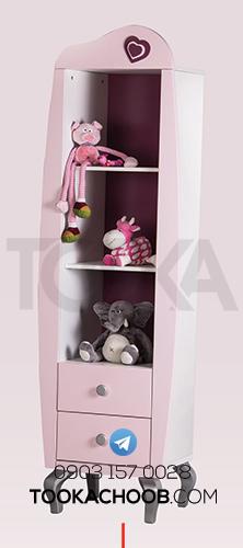 ویترین سرویس خواب نوزاد مدل پرنسس توکا چوب - توکا وود