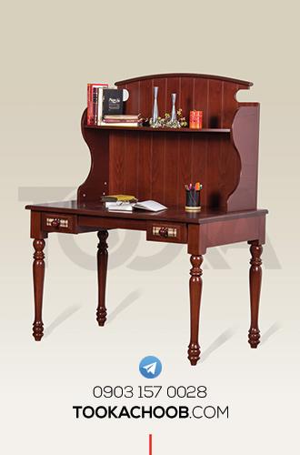 میز تحریر سرویس خواب نوجوان مدل ملوران توکا چوب - توکا وود
