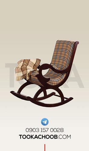 صندلی راکر سرویس خواب نوجوان مدل ملوران توکا چوب - توکا وود