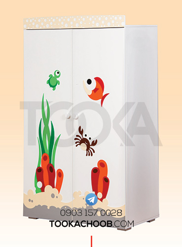 سرویس خواب نوزاد مدل دریا توکاچوب - توکاوود