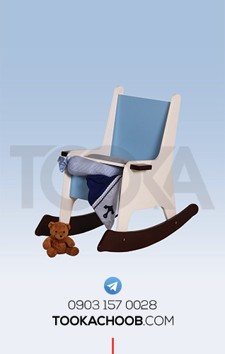صندلی راک کودک سرویس خواب نوجوان مدل کشتی توکاچوب - توکاوود