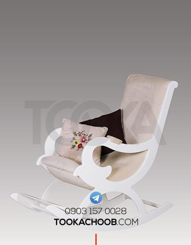 صندلی سرویس خواب نوزاد مدل سلطان توکا چوب - توکا وود