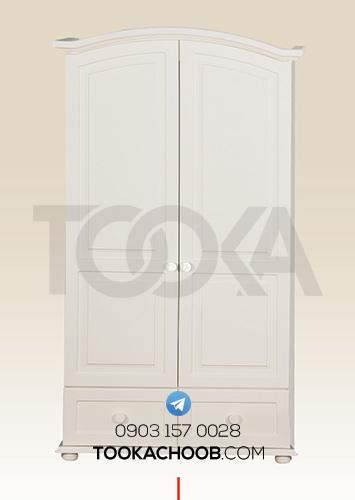 کمد لباس سرویس خواب نوجوان مدل تیس توکا چوب - توکا وود
