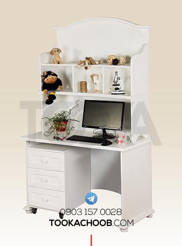 میز کامپیوتر میز تحریر سرویس خواب نوجوان مدل تیس توکا چوب - توکا وود