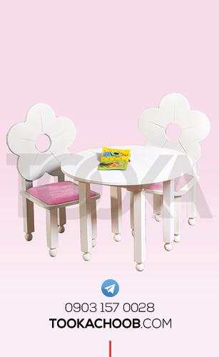 میز و صندلی کودک سرویس خواب نوزاد مدل تیس توکاچوب - توکاوود