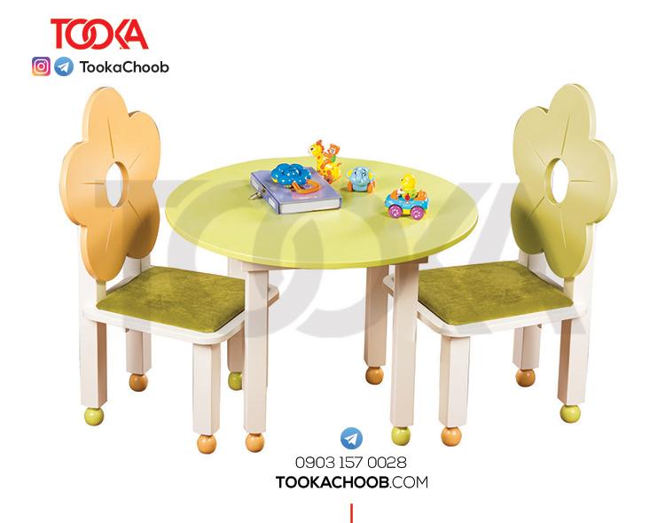 میز و صندلی کودک توکاچوب - توکاوود