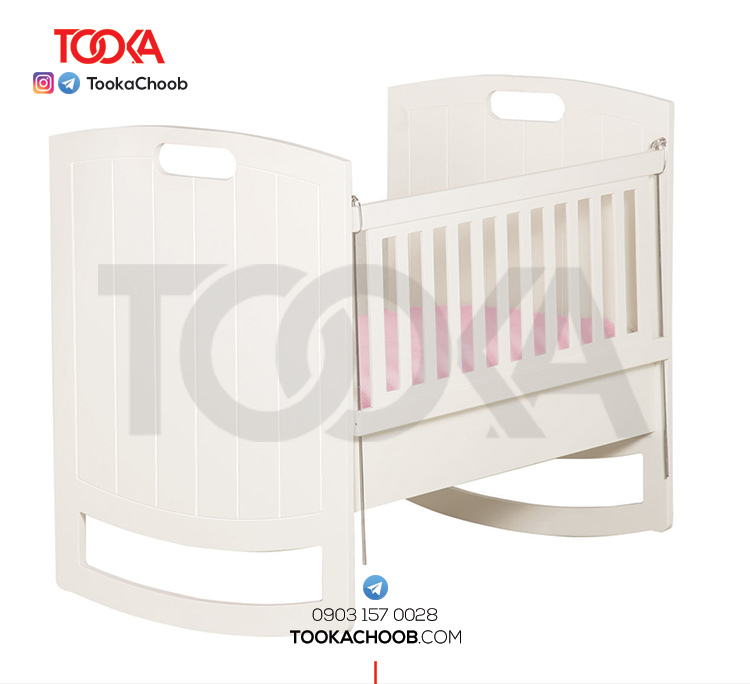 تخت گهواره ای نوزاد توکاچوب - توکاوود