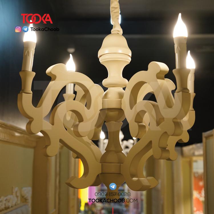 لوستر و روشنایی توکاچوب - توکا چوب