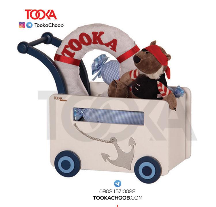 کری ایج جعبه اسباب بازی مدل کشتی توکاچوب - توکاوود